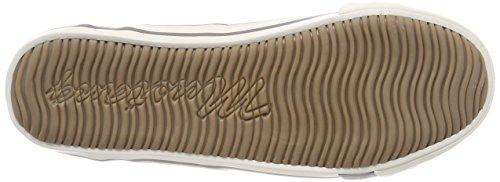 Mustang 1099-401-932, Sneaker Infilare Donna Grigio (Silbergrau)