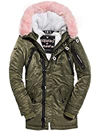 Abbigliamento Amazon Superdry Donna it E Giacche Cappotti qRqgC85