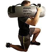 dimok Attrezzatura Completa per Il Corpo con Sacchetto di Sabbia per Esercizi alternativi con Pompa e Pesi di Allenamento 75 x 25 cm Grigio