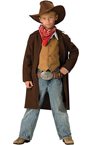 Generique - Cowboy Kostüm für Kinder - Deluxe 98/104 (4 - Kind Deluxe Cowboy Kostüm