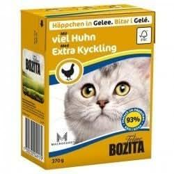 BOZITA - Chat Tetra Morceau En Gelée Avec Beaucoup De Poulet