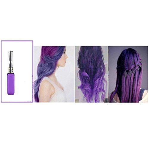 Gemini _ Mall, Haarfarbe, 13Farben, temporäre Haarfarbe, mit Auftragung durch eine Mascarabürste