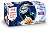 Felix As Good As It Looks Favourites Selection in Jelly Cat Food 44 pack