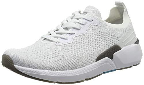 bugatti Herren 342748036959 Sneaker, Weiß, 42 EU