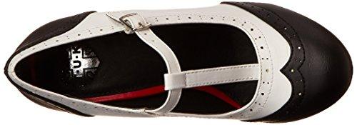 TUK - Bombshell, Scarpe col tacco Donna Nero (Nero (Black/White))