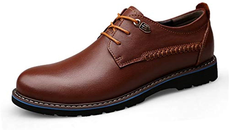 Hongjun-scarpe Scarpe Uomo 2018, Men's Business Oxford Casual Nuovo Nuovo Nuovo Stile Semplice Classico Tondo Testa Cravatta... | Un'apparenza Elegante  | Sig/Sig Ra Scarpa  a35827