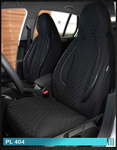 Maß Sitzbezüge Ford Focus 1 Fahrer & Beifahrer ab BJ 1998-2004 Farbnummer: PL404 - 1998 Ford Sitzbezug