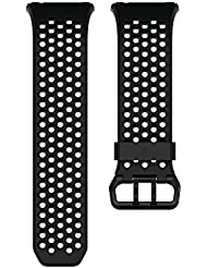 Fitbit Ionic Sportarmband, Black, Large