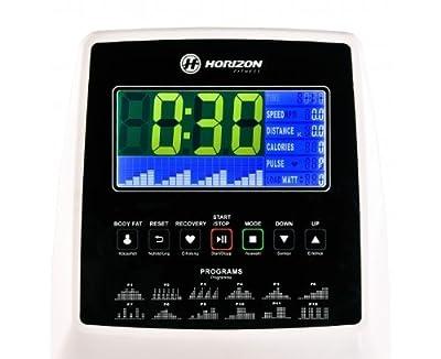 Horizon Fitness Crosstrainer Syros Pro, weiß / silber, 100690