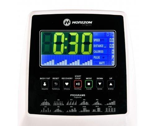 Horizon Fitness Crosstrainer Syros Pro, weiß / silber, 100690 - 2