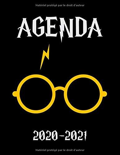 Agenda 2020-2021: Agenda Harry - Planner 2020 2021 Français - Organisateur Journalier Semainier Mensuel - Ecole - Etudes - Bureau - Famille - De Août 2020 à Août 2021