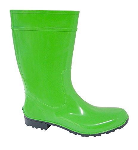 LEMIGO, Stivali donna Verde (verde)