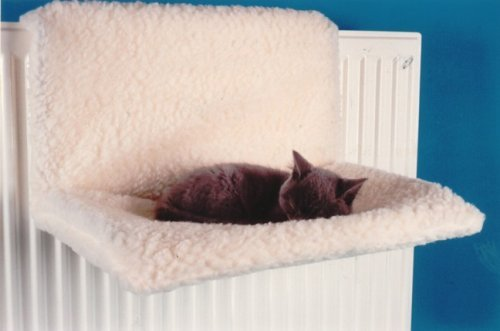 Calidad Pet Products - Cama para gatos de radiador suave lavable