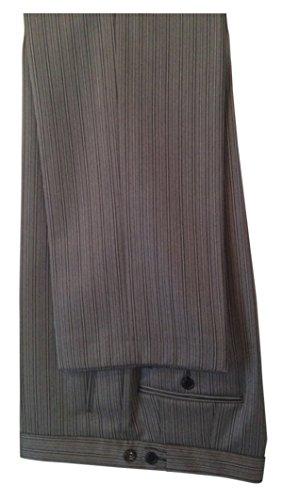Stresemannhose Gentleline, grau/schwarz, 100% Schurwolle Grau/Schwarz