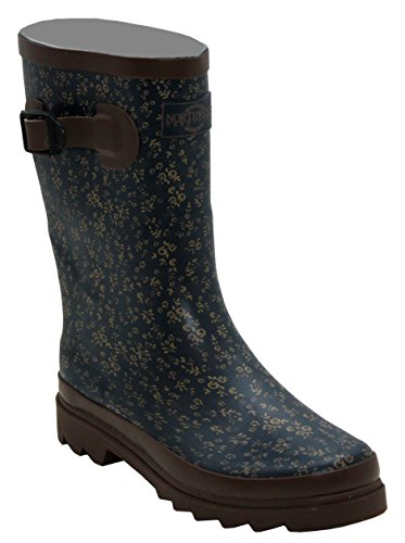 Ladies New Womens Short Mid Calf Girls Snow Mud Festival Waterproof Wellington Rain Boots Wellies