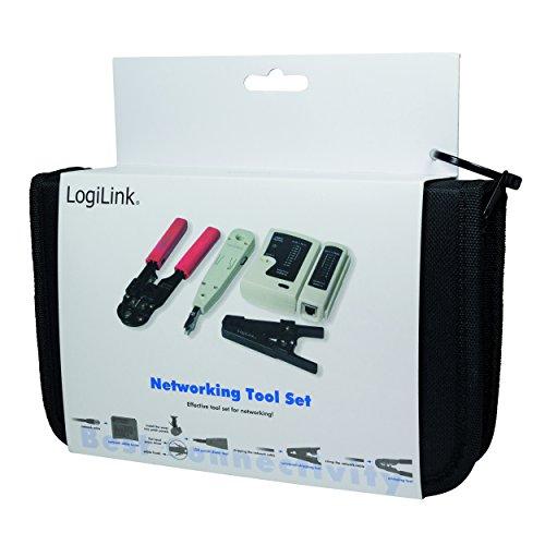 LogiLink Netzwerk Werkzeug Set mit Tasche - 4