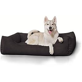 Knuffelwuff Dreamline – Letto per cane nelle misure L-XXXL, colore: marrone, beige o nero