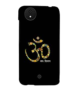 printtech Om Namah Shivaya Back Case Cover for Micromax Android A1::Micromax Canvas A1 AQ4502