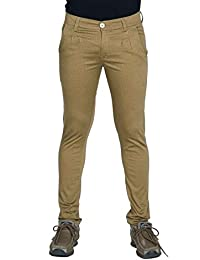 Bows And Arrows Men's Regular Fit Jeans(BA13_Brown_28)