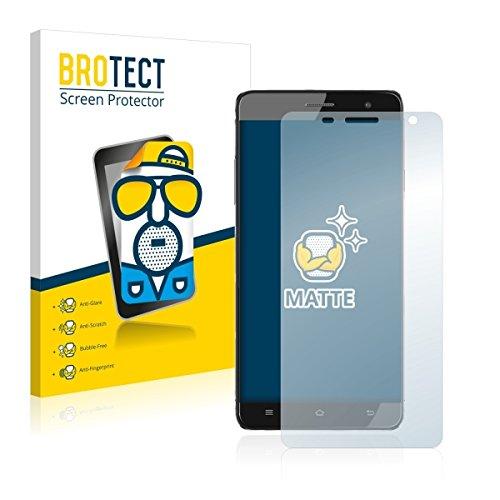 2X BROTECT Matt Bildschirmschutz Schutzfolie für Cubot H1 (matt - entspiegelt, Kratzfest, schmutzabweisend)