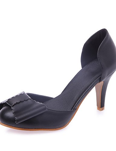 WSS 2016 Chaussures Femme-Mariage / Soirée & Evénement / Habillé / Décontracté / Sport-Noir / Rose / Violet / Blanc / Amande-Talon Aiguille-Talons- white-us4-4.5 / eu34 / uk2-2.5 / cn33