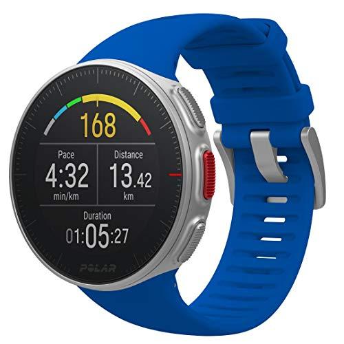 Polar Vantage V - Reloj Premium con GPS y Frecuencia Cardíaca, Multideporte y Perfil de Triatlón, Potencia de Running, Batería Ultra Larga, Resistente al Agua, Blanco, M/L (155 - 210 mm)