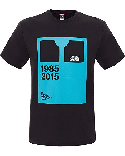 North Face M S/S Pattern Tee T-Shirt pour homme