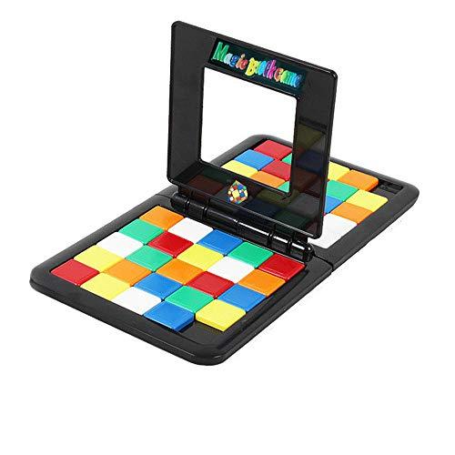 zarupeng✦‿✦ 2019 Rubik'S Cube Battle Juego de Escritorio Niños y Adultos Entrenamiento de Cerebros Educación Juguete