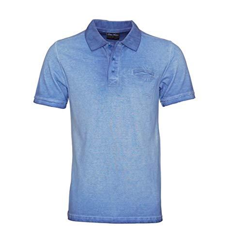 Pablo Malone Poloshirt Polo JH1701155 Blue by Poolman Größe XXL