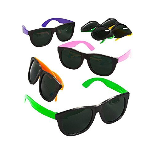blue-green-novelty-bulk-lot-of-48-neon-80s-style-party-sunglasses-with-dark-lens
