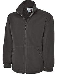 5500d7201 Uneek UC604 Mens Adult Classic Full Zip Micro Fleece Coat Jacket Size XS-6XL