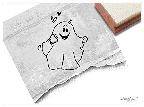 Stempel GEIST Halloween Gespenst - Kinderstempel Bildstempel Kita Kinderzimmer Schule Basteln Scrapbooking Geschenk für Kinder - zAcheR-fineT