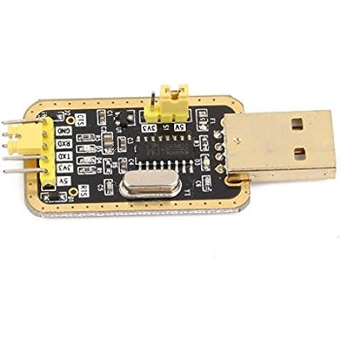 WINGONEER 3.3V/5V convertidor de USB a TTL UART CH340G de serie del módulo adaptador de oro