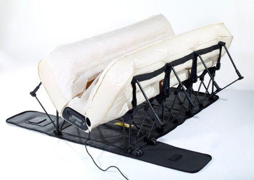Carlo Milano Gästebett: Luxus-Luftbett mit integrierter Pumpe, 200 x 140 cm (Gäste Luftbetten) - 7