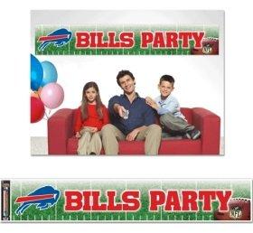 Buffalo Rechnungen Party Banner