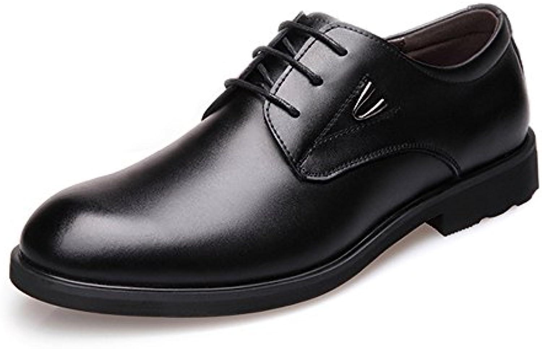 MXNET Formale Geschäfts Schuhe der Männer  Klassische Matte PU Leder Obere Schnürung Breathed gefütterte Oxfords