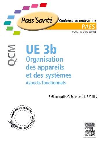 UE 3b organisation des appareils systèmes : Aspects fonctionnels par Francesco Giammarile, Christian Scheiber, Jean-Philippe Vuillez