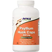 Psyllium Husk by NOW - 500 capsules by Now Foods