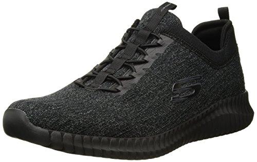 ec5dd2749bac Skechers Men's Elite Flex Hartnell Low Top Sneaker Shoes Black 11.5
