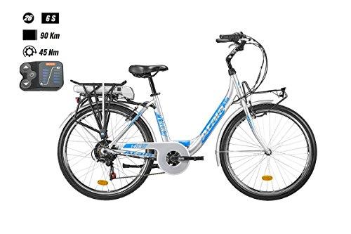 Atala Bici elettrica T-Run 300 26'' 6-Velocità taglia 45 Bafang 317Wh 2018 (City Bike Elettriche) / E-Bike T-Run 300 26'' 6-Speed size 45 Bafang 317Wh 2018 (City E-Bike)