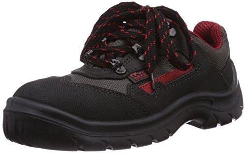 mts-sicherheitsschuhe-monaco-s2-7152-chaussures-de-securite-mixte-adulte-noir-schwarz-rot-taille-43