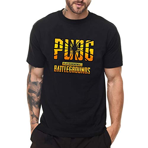 bb74687ce655 Hot Fashion TPS 3D Shooter Game Playerunknown's Battlegrounds PUBG T-Shirt  Winner Winner Chicken Dinner