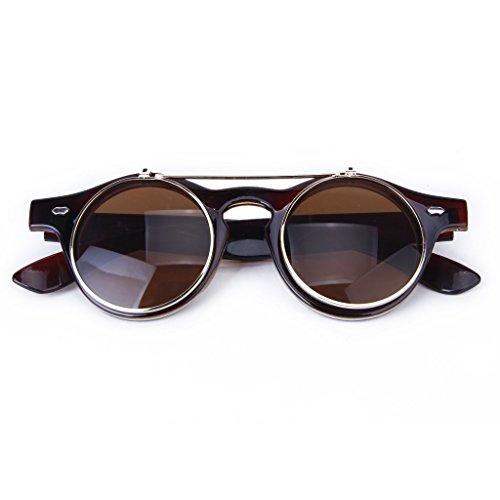 toogoo-r-gafas-estilo-steampunk-de-goth-del-vintage-gafas-de-sol-para-cosplay-marron-oscuro