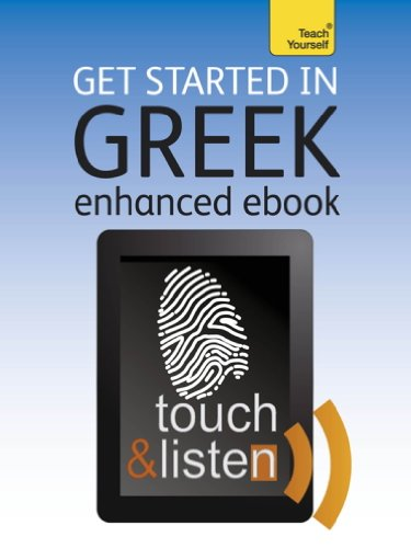 Get Started In Beginner's Greek: Teach Yourself: Audio eBook (Teach Yourself Audio eBooks) (English Edition)