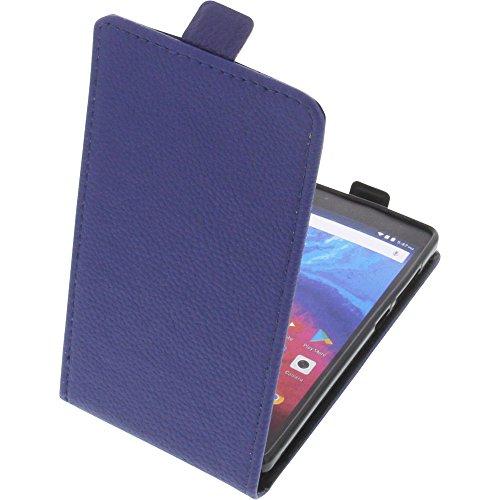 foto-kontor Tasche für Archos Core 50 Smartphone Flipstyle Schutz Hülle blau