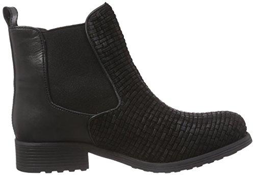 Ilse Jacobsen Damen Stiefelette, Ruby451, Chelsea Boots Femme Noir (schwarz (001))