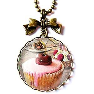 Kette mit cabochon ° Cupcake °