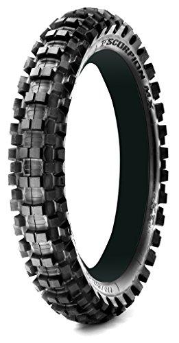 Roue arrière Pneu Pirelli Scorpion MX MID SOFT 32–32 Mini Cross Noir Taille 90/100–16