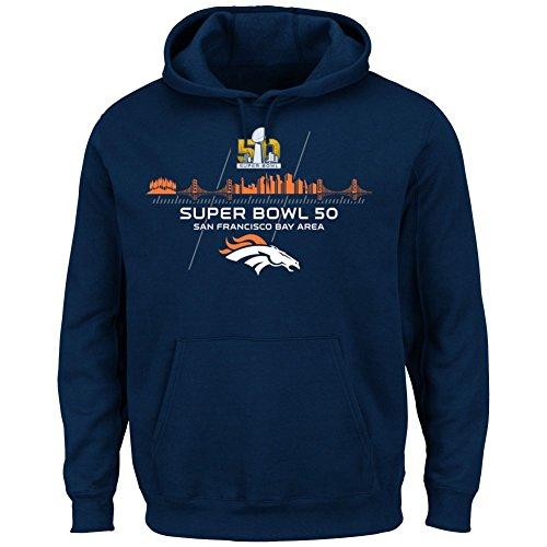 Majestic Superbowl 50 Champions Hoody - Denver Broncos - L