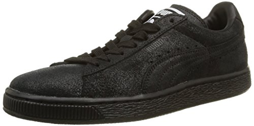 Puma Classic, Sneakers Basses femme Noir (Black/Steel Gray)